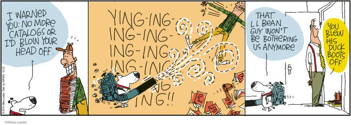 Cartoonist Mike Lester  Mike du Jour 2014-10-22 warn