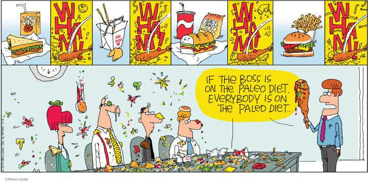 Cartoonist Mike Lester  Mike du Jour 2014-11-09 diet