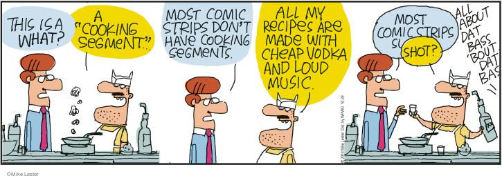 Cartoonist Mike Lester  Mike du Jour 2014-10-29 ingredient
