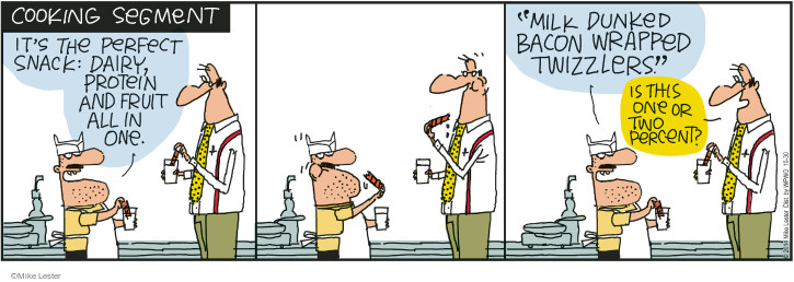 Comic Strip Mike Lester  Mike du Jour 2014-10-30 protein