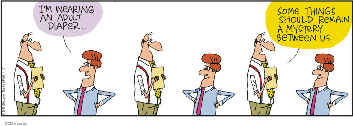 Cartoonist Mike Lester  Mike du Jour 2014-11-10 secret