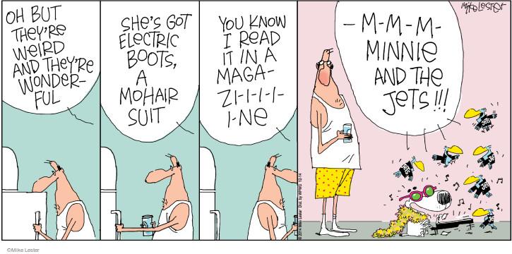 Comic Strip Mike Lester  Mike du Jour 2014-12-14 Make America Great Again