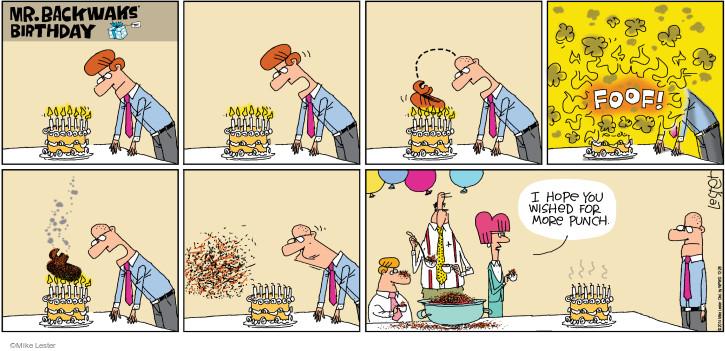 Comic Strip Mike Lester  Mike du Jour 2014-12-28 blow