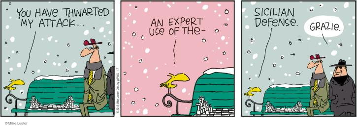 Cartoonist Mike Lester  Mike du Jour 2015-01-07 crime
