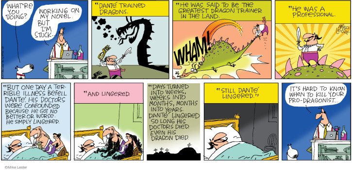 Cartoonist Mike Lester  Mike du Jour 2015-01-25 worse