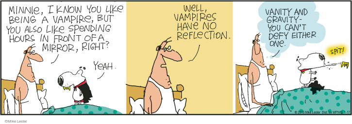 Comic Strip Mike Lester  Mike du Jour 2015-01-17 mirror