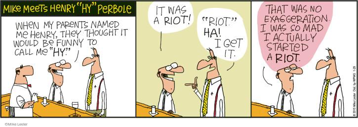 Comic Strip Mike Lester  Mike du Jour 2015-01-29 mad