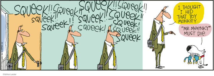 Cartoonist Mike Lester  Mike du Jour 2015-02-02 playing