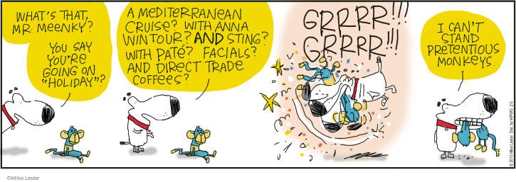 Comic Strip Mike Lester  Mike du Jour 2015-02-05 toy