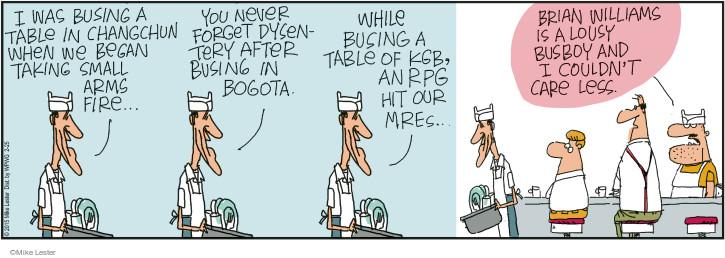 Comic Strip Mike Lester  Mike du Jour 2015-02-25 arms