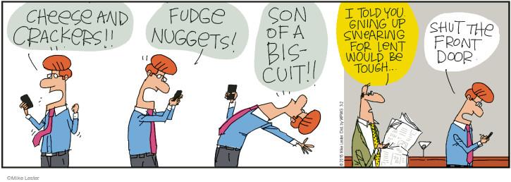 Comic Strip Mike Lester  Mike du Jour 2015-03-02 abstain