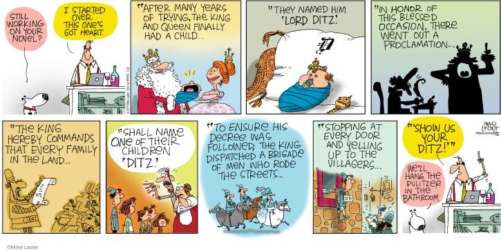 Comic Strip Mike Lester  Mike du Jour 2015-03-22 out door