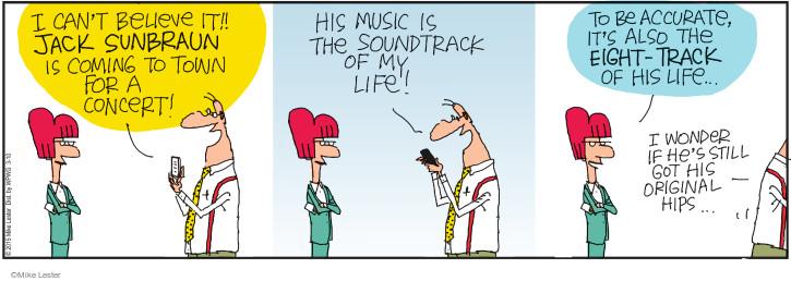 Cartoonist Mike Lester  Mike du Jour 2015-03-10 musician