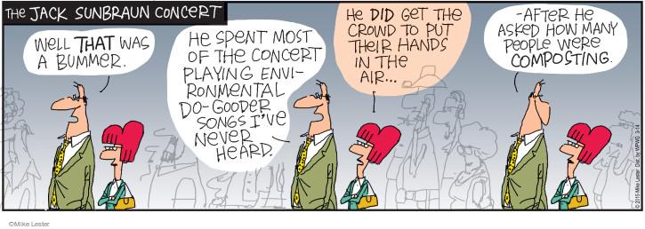 Comic Strip Mike Lester  Mike du Jour 2015-03-14 environment