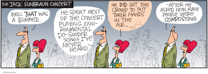 Cartoonist Mike Lester  Mike du Jour 2015-03-14 musician