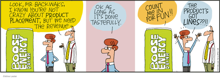 Comic Strip Mike Lester  Mike du Jour 2015-03-25 energy drink