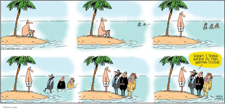 Cartoonist Mike Lester  Mike du Jour 2015-04-26 joke