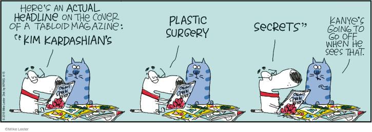 Comic Strip Mike Lester  Mike du Jour 2015-04-15 mad
