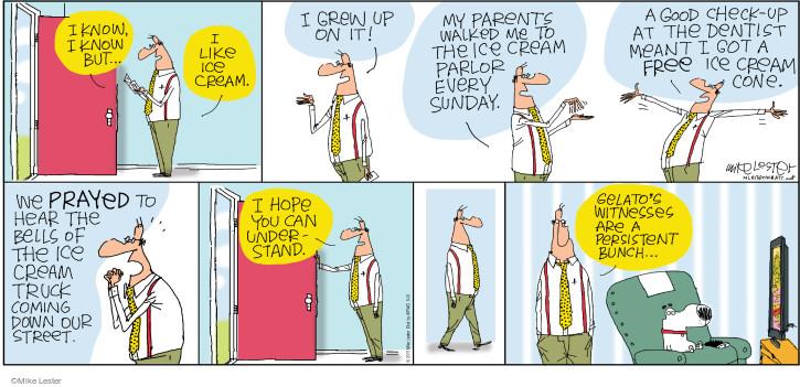 Comic Strip Mike Lester  Mike du Jour 2015-05-31 preach