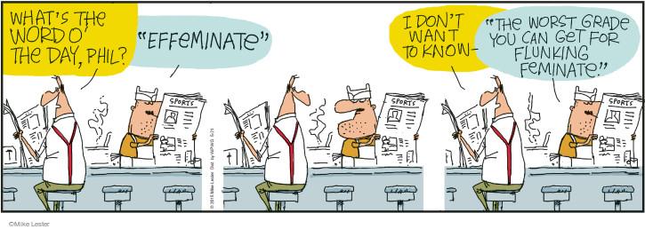 Cartoonist Mike Lester  Mike du Jour 2015-05-21 worst