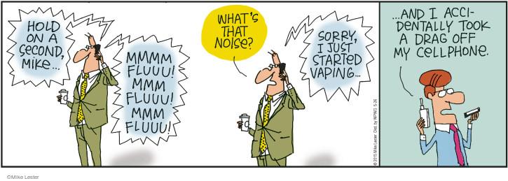 Cartoonist Mike Lester  Mike du Jour 2015-05-26 accidentally