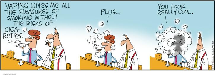 Cartoonist Mike Lester  Mike du Jour 2015-05-29 health