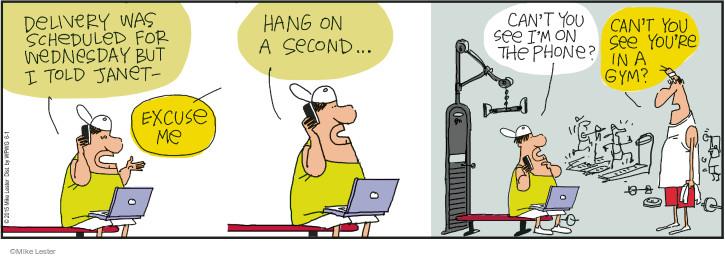 Comic Strip Mike Lester  Mike du Jour 2015-06-01 rude