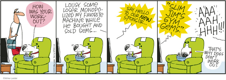 Comic Strip Mike Lester  Mike du Jour 2015-06-06 grammatical