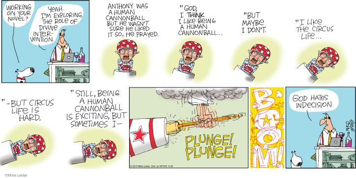 Comic Strip Mike Lester  Mike du Jour 2015-06-28 divine intervention