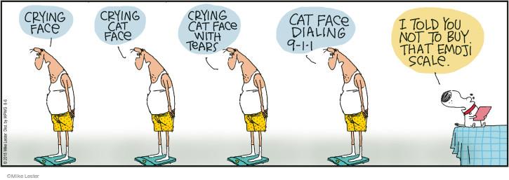 Cartoonist Mike Lester  Mike du Jour 2015-08-08 fat