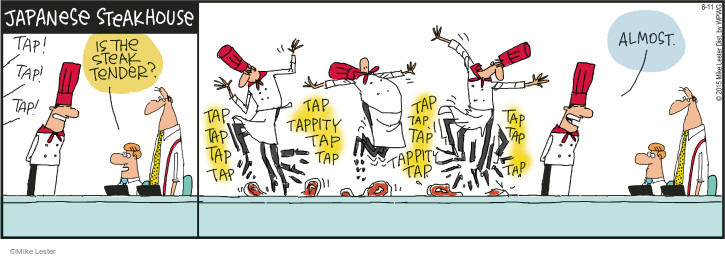 Comic Strip Mike Lester  Mike du Jour 2015-08-11 dancer