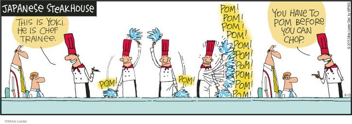 Comic Strip Mike Lester  Mike du Jour 2015-08-13 preparation
