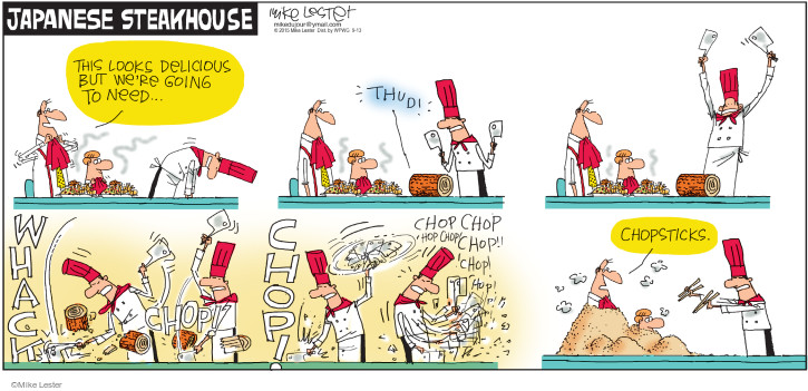 Comic Strip Mike Lester  Mike du Jour 2015-09-13 delicious
