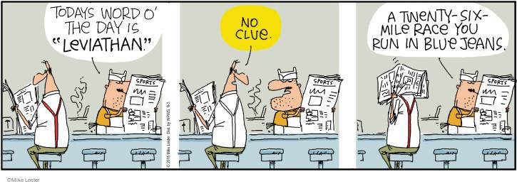 Comic Strip Mike Lester  Mike du Jour 2015-09-03 newspaper