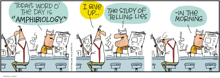 Cartoonist Mike Lester  Mike du Jour 2015-09-04 lie