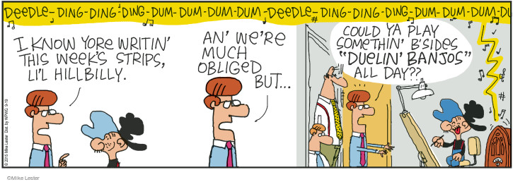 Comic Strip Mike Lester  Mike du Jour 2015-09-19 much