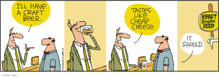 Comic Strip Mike Lester  Mike du Jour 2015-09-29 beer