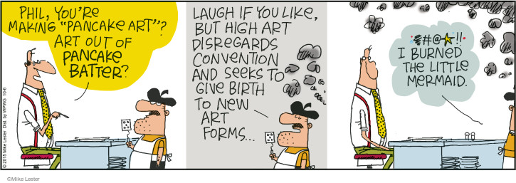 Comic Strip Mike Lester  Mike du Jour 2015-10-06 give birth