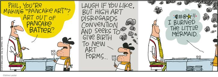 Cartoonist Mike Lester  Mike du Jour 2015-10-06 laugh