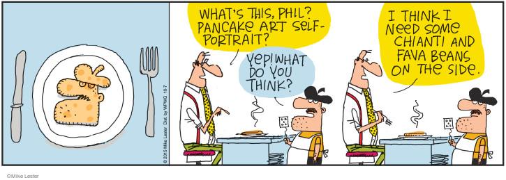 Cartoonist Mike Lester  Mike du Jour 2015-10-07 movie film