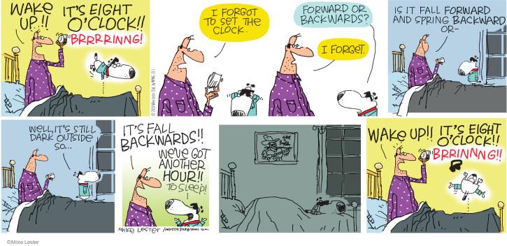 Comic Strip Mike Lester  Mike du Jour 2015-11-01 forward