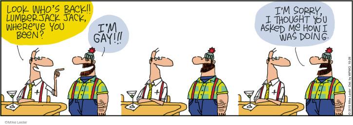 Comic Strip Mike Lester  Mike du Jour 2015-10-26 ask out