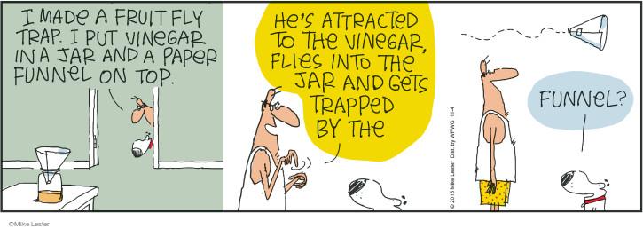 Comic Strip Mike Lester  Mike du Jour 2015-11-04 funnel