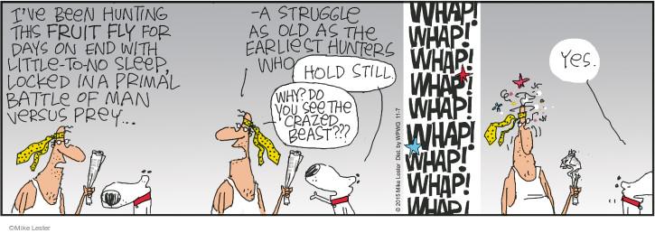 Cartoonist Mike Lester  Mike du Jour 2015-11-07 hold