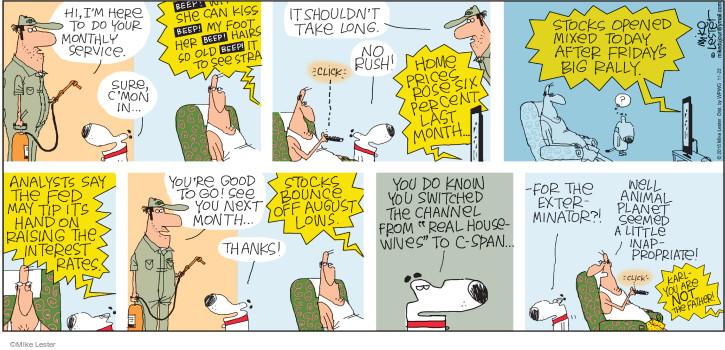 Comic Strip Mike Lester  Mike du Jour 2015-11-22 network