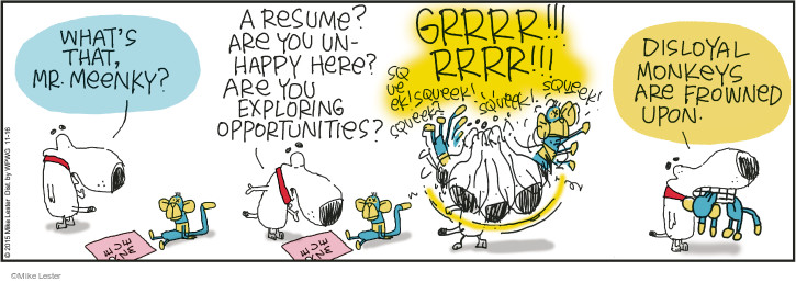 Comic Strip Mike Lester  Mike du Jour 2015-11-16 toy