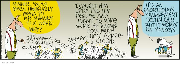 Comic Strip Mike Lester  Mike du Jour 2015-11-17 toy