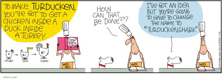 Comic Strip Mike Lester  Mike du Jour 2015-11-25 Turkey