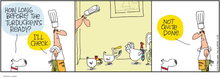 Comic Strip Mike Lester  Mike du Jour 2015-11-26 Turkey