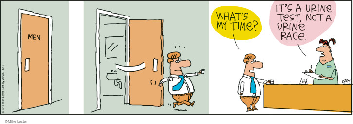 Comic Strip Mike Lester  Mike du Jour 2015-12-02 speed